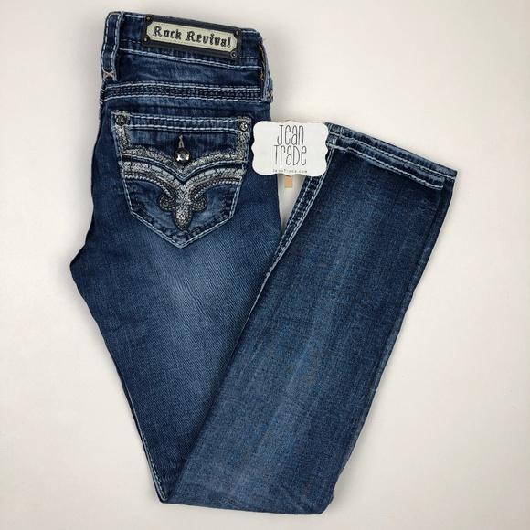 Rock Revival Denim - Rock Revival Lanlan Straight Jean